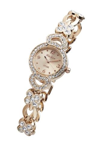 Armbanduhr mit Glassteinen besetzt kaufen
