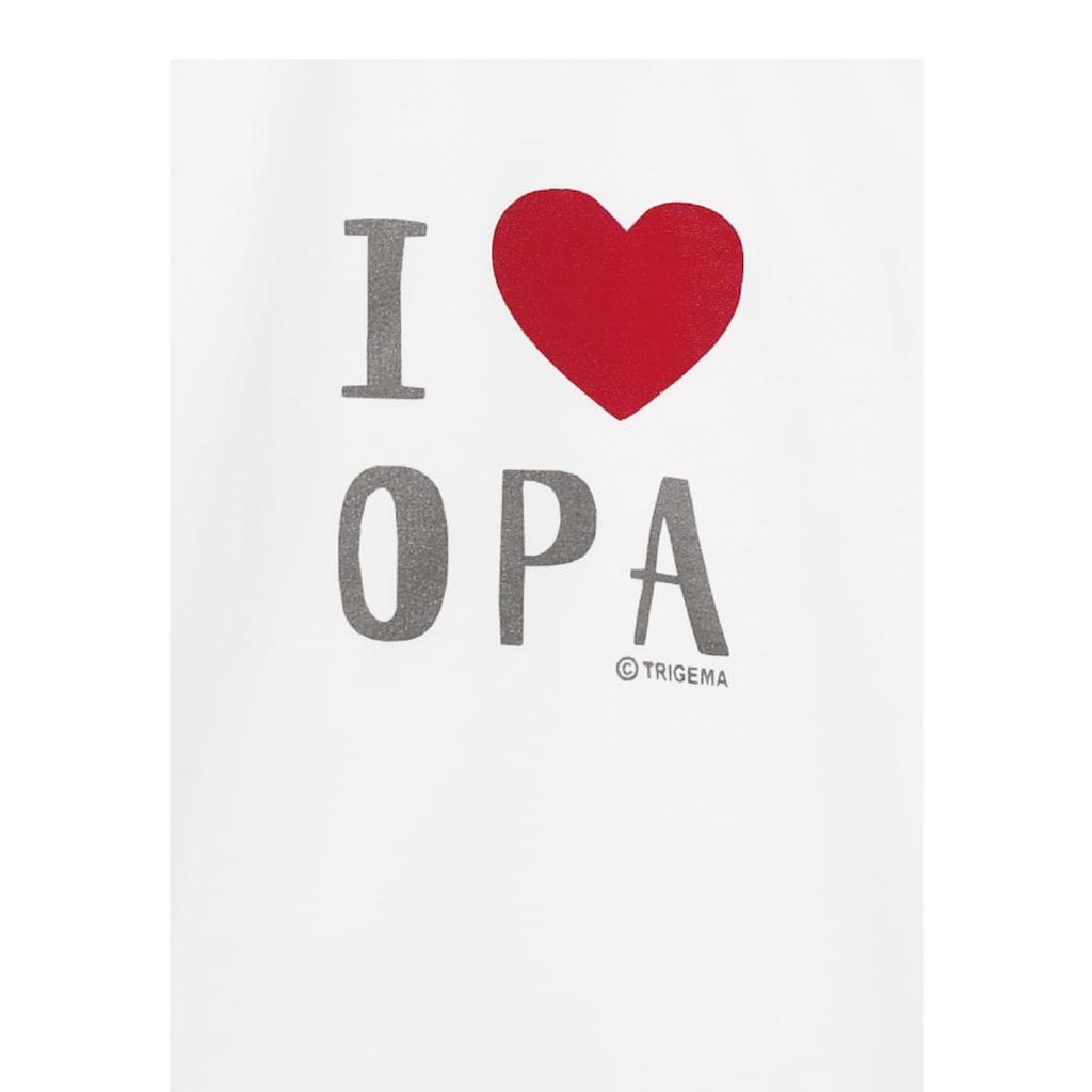 Trigema T-Shirt, Lieblings-Opa