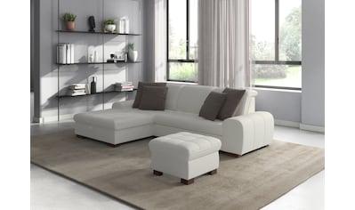 sit&more Ecksofa, wahlweise mit Bettfunktion, Bettkasten und Kopfteilverstellung, auch... kaufen