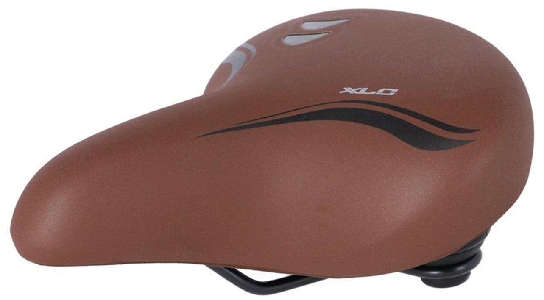 XLC Fahrradsattel City-Sattel All Season SA-A26 braun Fahrradteile Fahrradzubehör Fahrräder Zubehör Fahrradsättel