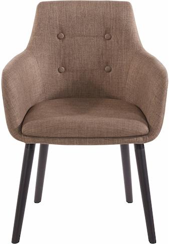 Home affaire Armlehnstuhl »Bradford«, (1 oder 2 Stück), Bezug in Webstoff, Gestell aus... kaufen