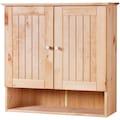 welltime Hängeschrank »Venezia Landhaus«, Badmöbel aus Massivholz, Breite 63 cm