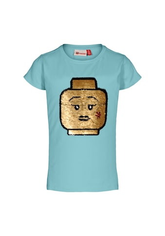 """LEGO® Wear Kurzarmshirt »LWTONE 308«, """"mit LEGO Kopf aus Wendepailletten"""" kaufen"""