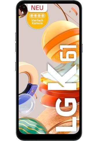 LG K61 Smartphone (16,5 cm / 6,53 Zoll, 128 GB, 48 MP Kamera) kaufen