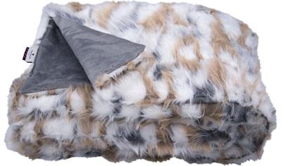 Wohndecke »Cosy Fur«, TOM TAILOR kaufen