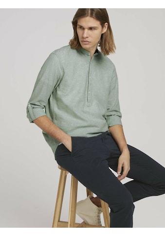 TOM TAILOR Denim Leinenhemd »Leinenhemd mitrecycelten Fasern« kaufen