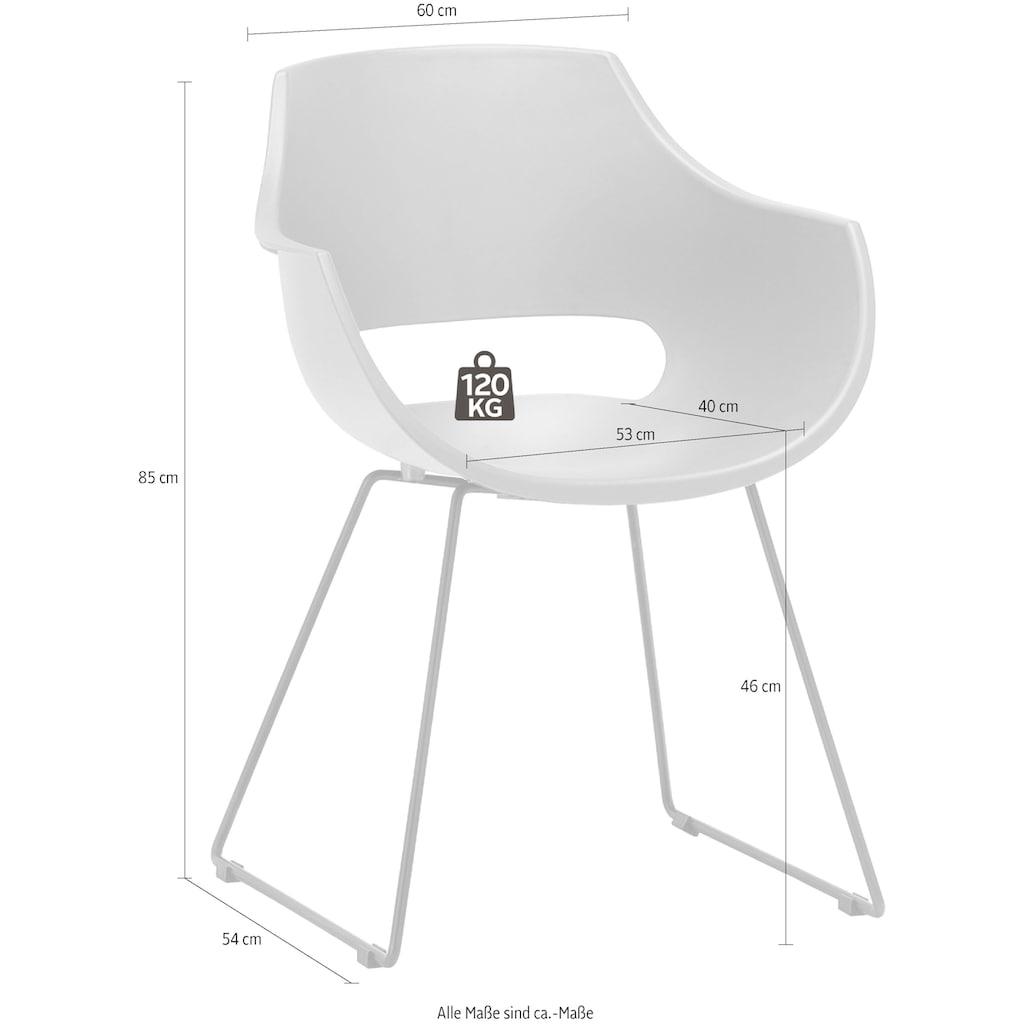 MCA furniture Schalenstuhl »Rockville«, Stuhl belastbar bis 120 Kg