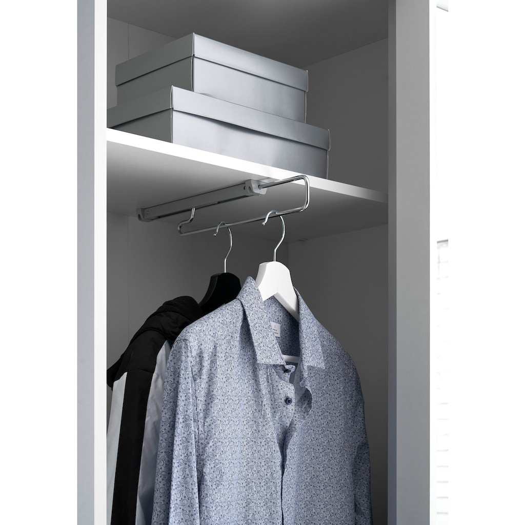 Schlafkontor Schiebetürenschrank »Aledo«, inkl. Garderobenauszug