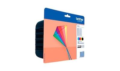 Brother »LC - 233 Multipack (bk+c/m/y)« Tintenpatrone kaufen
