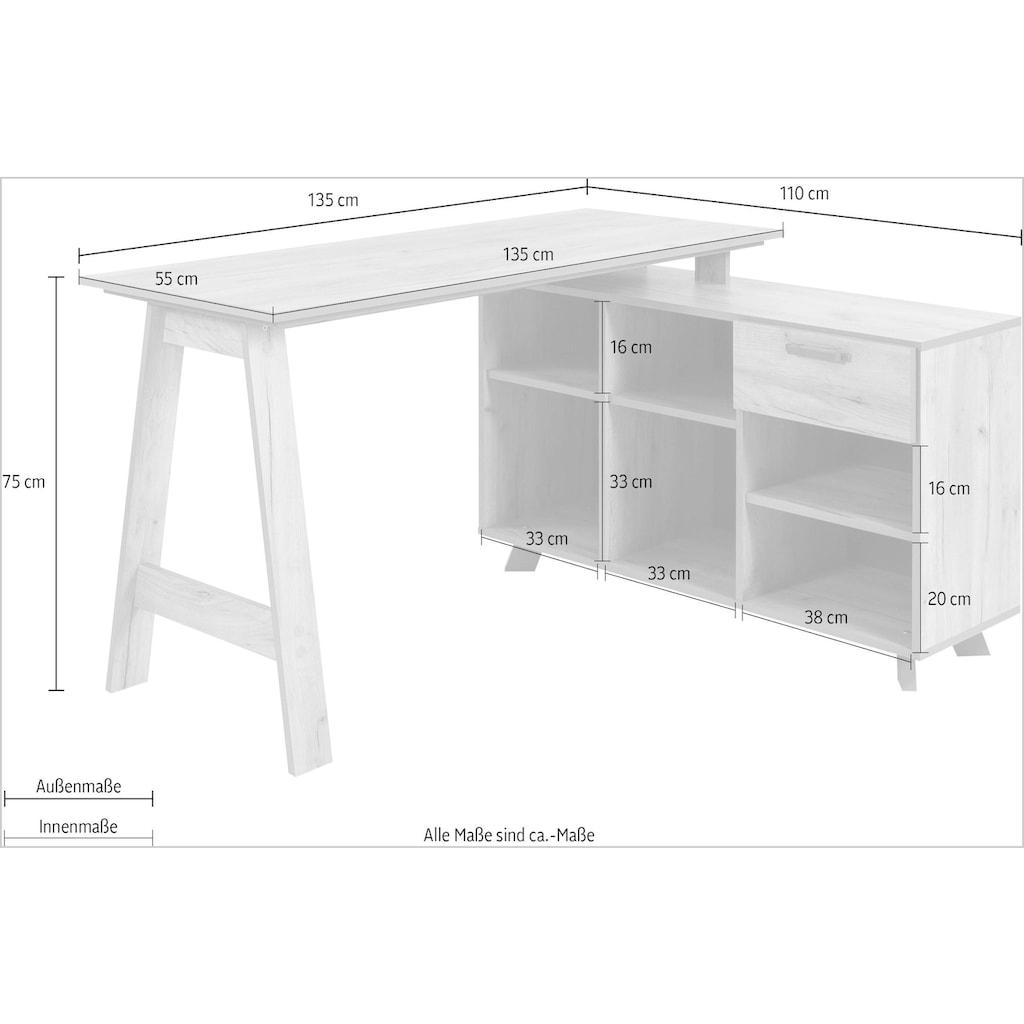 Homexperts Schreibtisch »Basti«