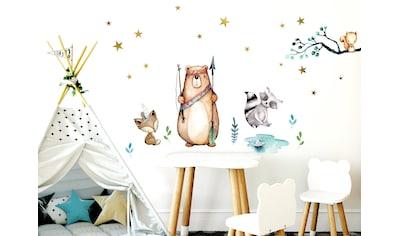 little DECO Wandtattoo »Little Deco Wandtattoo Waldtiere Pfeil & Bogen« kaufen