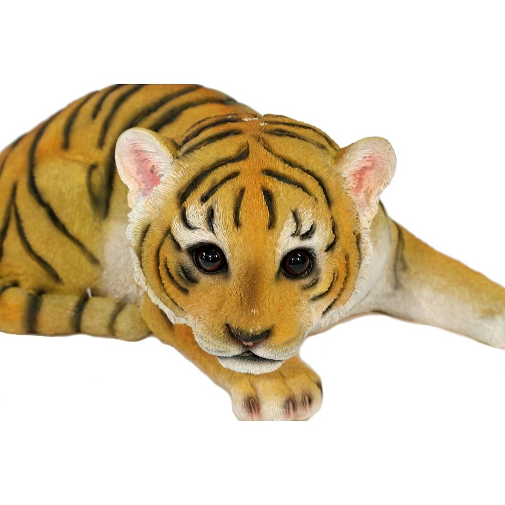 Casa Collection by Jänig Tierfigur »Tiger liegend«, Breite 30 cm