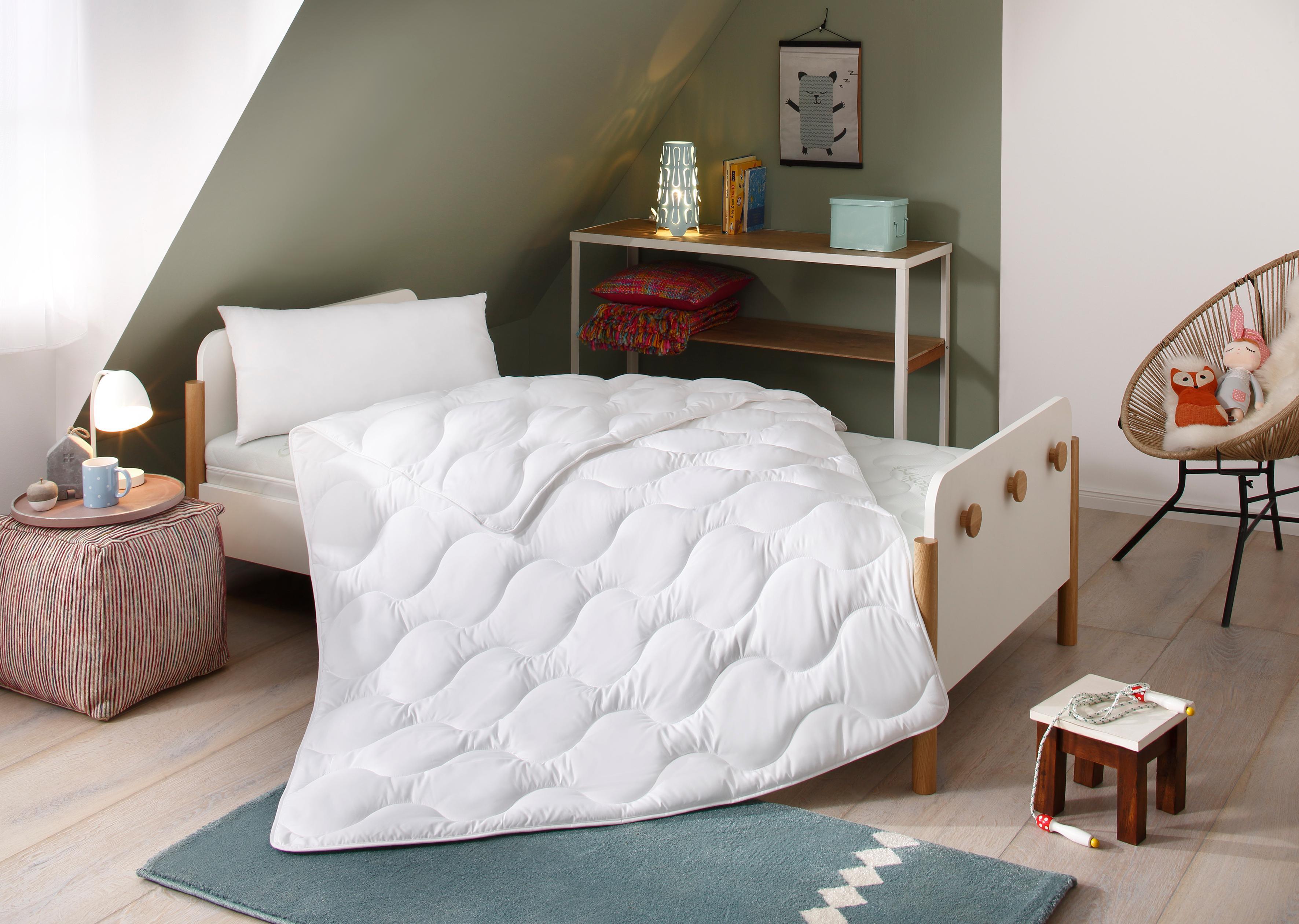 Kinderbettdecke + Kopfkissen Micro Lüttenhütt normal