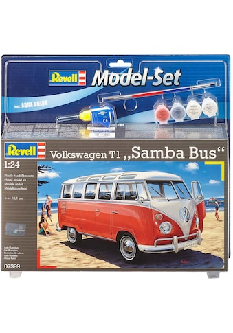 Revell® Modellbausatz »Model Set VW T1 Samba Bus«, 1:24, Made in Europe kaufen
