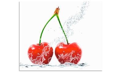 Artland Küchenrückwand »Kirschen mit Spritzwasser« kaufen