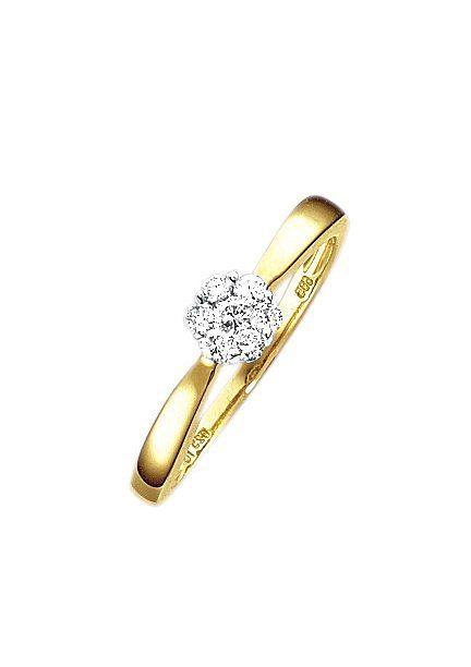 Firetti Verlobungsring Vorsteckring | Schmuck > Ringe | Goldfarben | Firetti