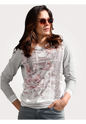 Mona Langarmshirt, mit charmantem Floraldruck kaufen