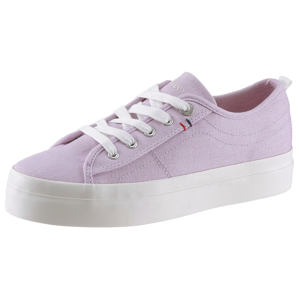 s.Oliver Plateausneaker