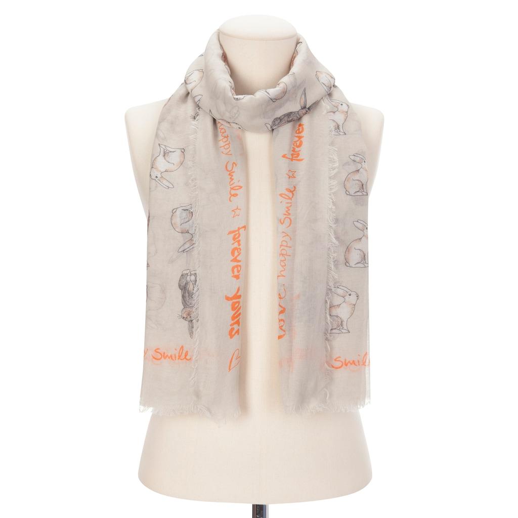 Codello Bunny-Schal aus Baumwolle und Viskose