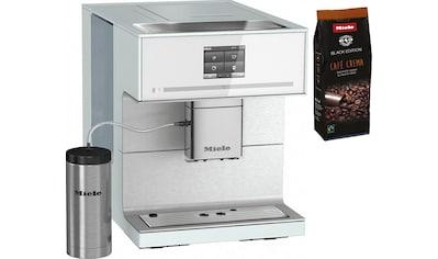Miele Kaffeevollautomat »CM7350 Brillantweiß«, Kaffee- und Teezubereitung kaufen