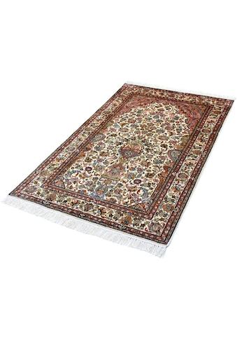 Seidenteppich, »T. Of Life 70«, Kayoom, rechteckig, Höhe 10 mm, manuell geknüpft kaufen
