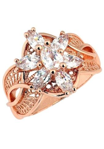 Der Herr der Ringe Fingerring »Arwens Abendstern Filigran - roségoldfarben, 20003784«,... kaufen