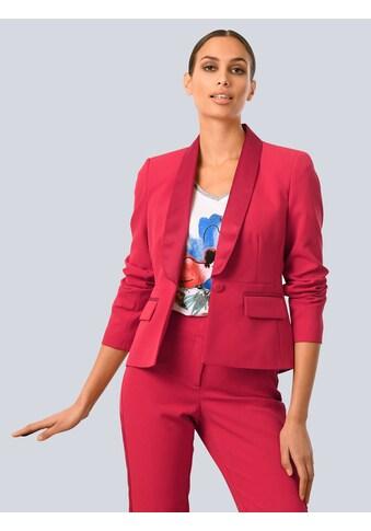 Alba Moda Kurzblazer, mit glänzenden Paspeln kaufen