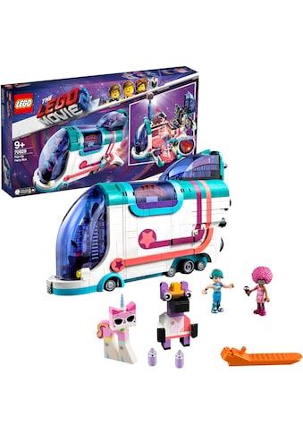"""LEGO® Konstruktionsspielsteine """"Pop - Up - Party - Bus (70828), THE LEGO® MOVIE 2™"""", Kunststoff, (1024 - tlg.) kaufen"""