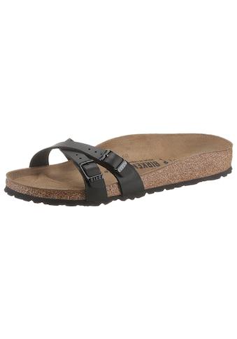 Birkenstock Pantolette »Almere«, in schmaler Schuhweite kaufen