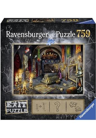 Ravensburger Puzzle »Puzzle Exit 6: Im Vampirschloss«, Made in Germany, FSC® - schützt Wald - weltweit kaufen