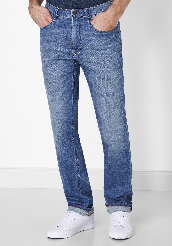 PADDOCK´S 5-Pocket Jeans »RANGER« | Bekleidung > Jeans > Sonstige Jeans | Blau | Jeans - Denim - Elasthan - Baumwolle | PADDOCK´S