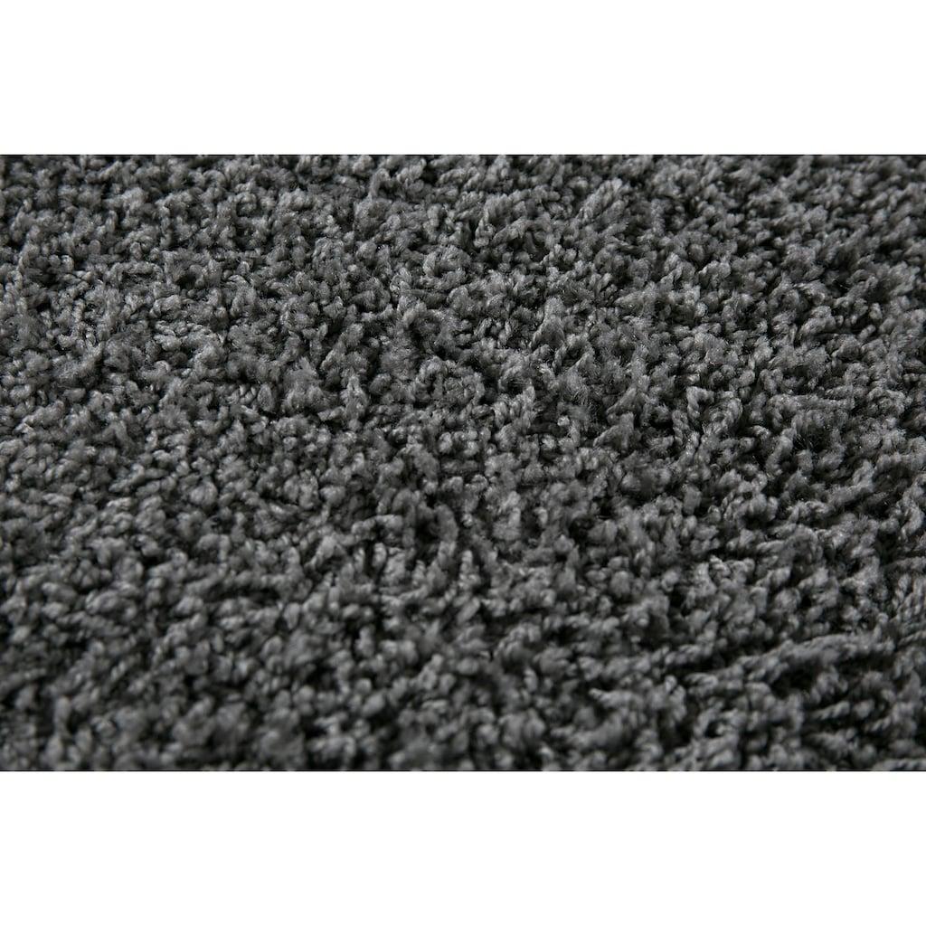 Andiamo Teppich »Shaggy uni«, rechteckig, 15 mm Höhe, Wohnzimmer