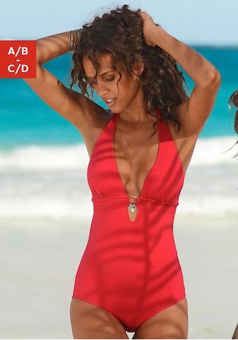 s.Oliver Beachwear Badeanzug, mit Accessoires kaufen