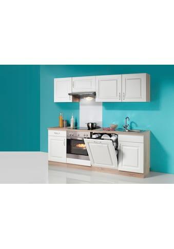 wiho Küchen Küchenzeile »Tilda«, mit E-Geräten, Breite 220 cm kaufen