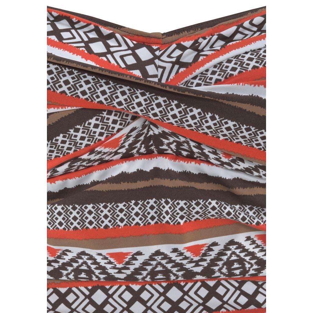 LASCANA Badeanzug »Wintu«, im angesagten Design und mit Shaping-Effekt