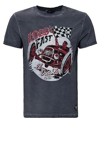 KingKerosin Print - Shirt »Loud & Fast« kaufen