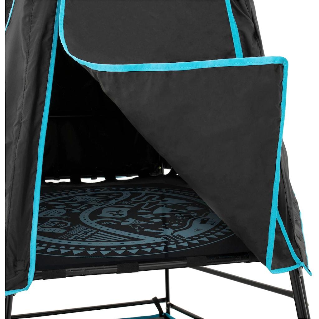 50NRTH Spielturm »Explorer«, Klettergerüst schwarz, 306x208x201 cm