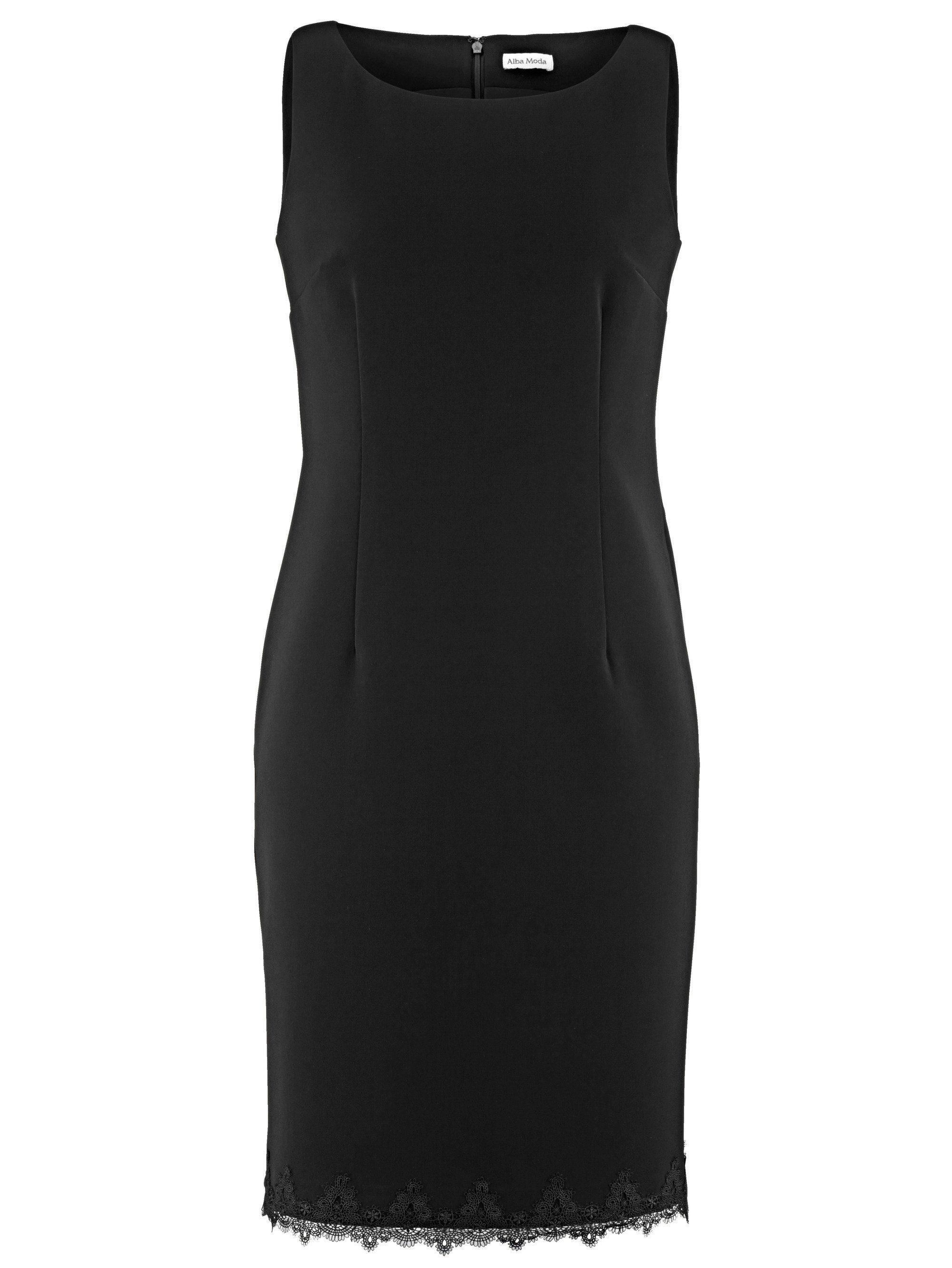 Alba Moda Kleid in Etui-Form