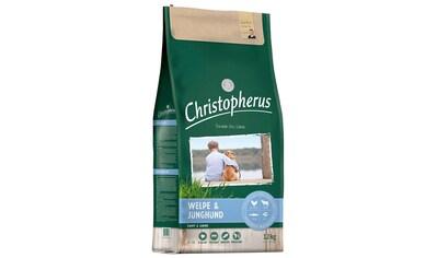 Christopherus Trockenfutter »Welpe - Junghund«, (1), 12 kg kaufen