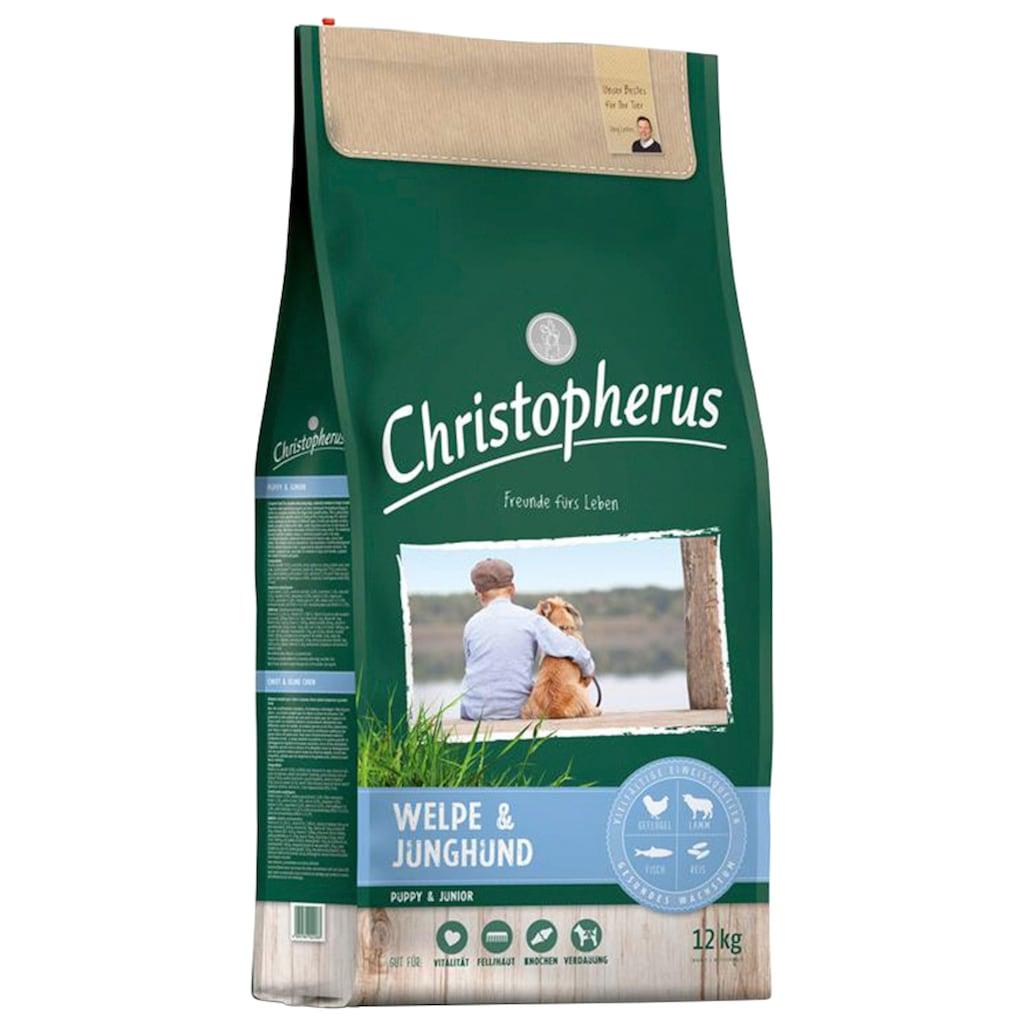 Christopherus Trockenfutter »Welpe - Junghund«, (1), 12 kg
