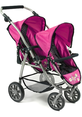CHIC2000 Puppen-Zwillingsbuggy »Vario navy-pink« kaufen
