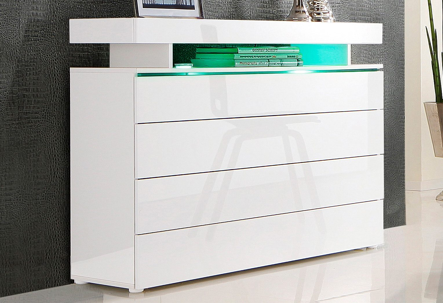Borchardt Möbel Kommode Breite 110 cm