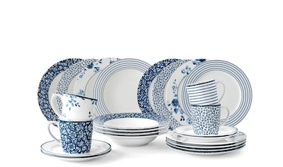 LAURA ASHLEY BLUEPRINT COLLECTABLES Kaffeeservice »China Rose, Sweet Allysum, Floris, Candy Stripe«, (Set, 12 tlg., Geschirrset) kaufen