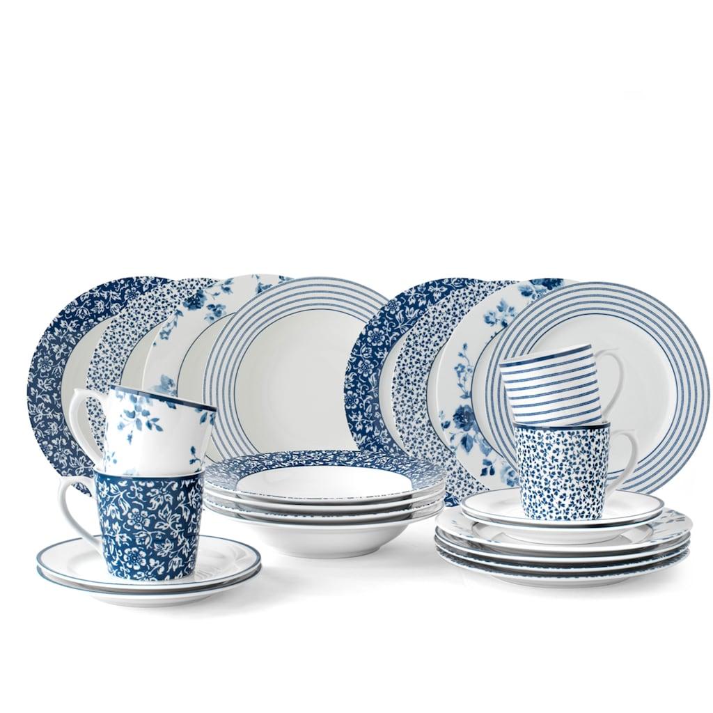 LAURA ASHLEY BLUEPRINT COLLECTABLES Kaffeeservice »China Rose, Sweet Allysum, Floris, Candy Stripe«, (Set, 12 tlg., Geschirrset)