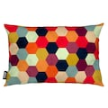 Dekokissen, »Colorful Beehive Pattern«, Juniqe