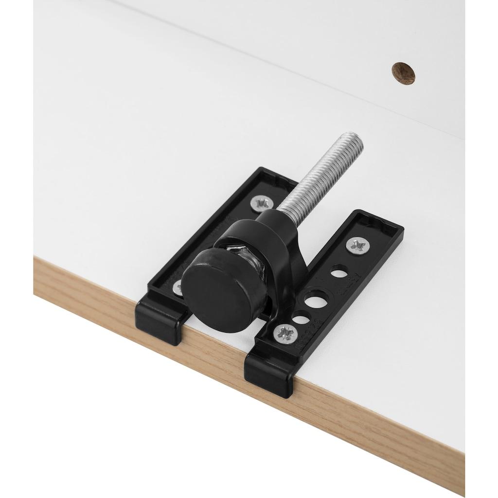 HELD MÖBEL Unterschrank »Tinnum«, 180 cm breit, Metallgriffe, MDF Fronten, 3 Schubkästen, 2 Auszüge, 2 Türen, für viel Stauraum auch als Sideboard nutzbar