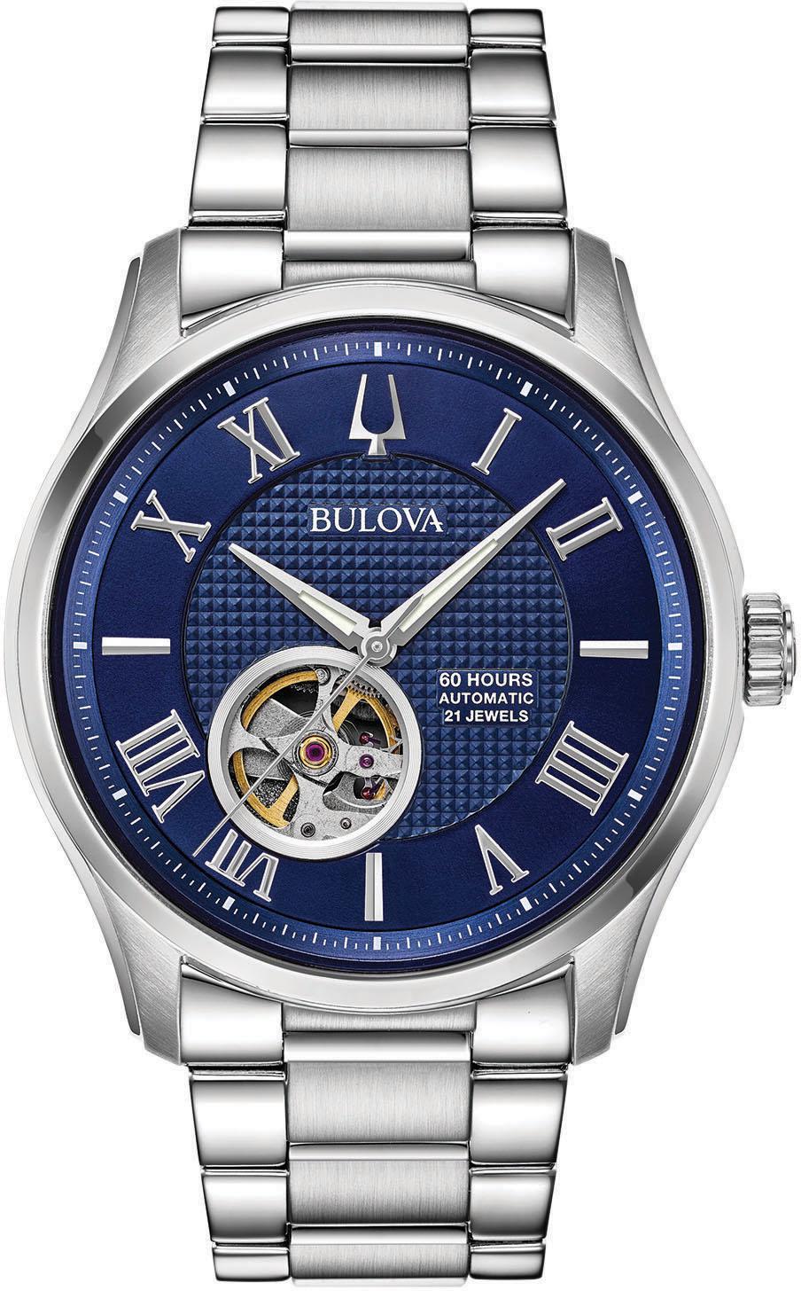 Bulova Automatikuhr Wilton 96A218 | Uhren > Automatikuhren | Bulova