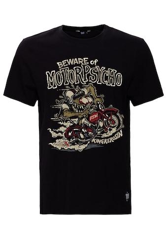 KingKerosin Print-Shirt »Motorpsycho«, mit Monster-Motiv kaufen