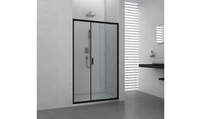 Sanotechnik Schiebetür »ELITE«, mit Alu-Profilen in schwarz matt kaufen