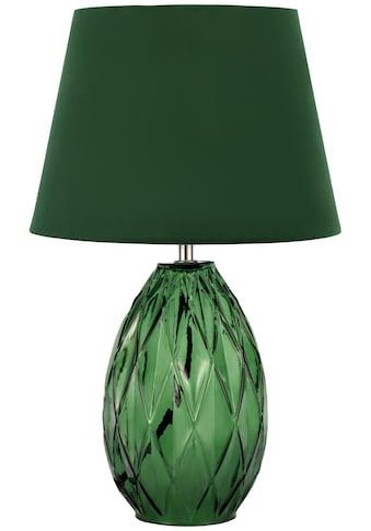 Pauleen Tischleuchte »Crystal Velvet«, E14, 1 St., Grün, Glas, Samt kaufen